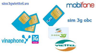 Sim sinh viên Vinaphone, Viettel, Mobifone chuyên dùng gửi tin nhắn giá rẻ