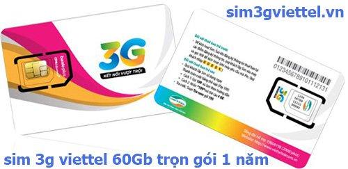 sim 3g viettel OBC 60Gb trọn gói 1 năm