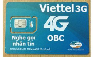 sim 4g viettel 60Gb/tháng gói V90