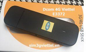 Dcom 4G đa mạng Viettel E3372 giá rẻ