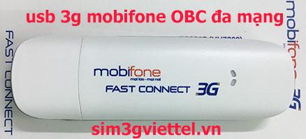 USB 3G Mobifone Fast Connect OBC FC2015 đa mạng