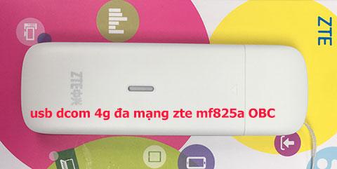 USB Dcom 4G đa mạng OBC ZTE MF825A
